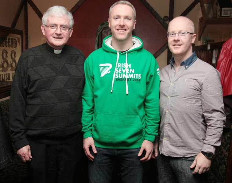 Fr Casey, Paul and John Devaney